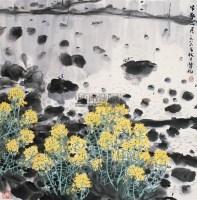 早春二月 镜心 设色纸本 - 林丰俗 - 中国书画 - 2006广州冬季拍卖会 -中国收藏网