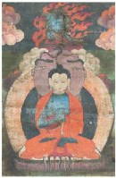 龙尊王佛唐卡 -  - 佛像唐卡 - 2007春季艺术品拍卖会 -收藏网
