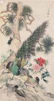 位列三公 镜心 绢本设色 - 吴伯年 - 中国书画 - 2006春季拍卖会 -收藏网