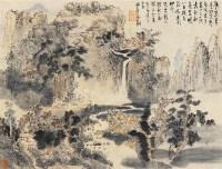 山水 立轴 设色纸本 - 高翔 - 中国字画 书法 - 2011年春季书画拍卖会 -收藏网