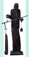 四川老腊肉 乌木 - 154514 - 中国油画 雕塑专场 - 2008年迎春艺术品拍卖会 -收藏网