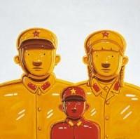 三口之家 布面 油画 - 沈敬东 - 中国油画 - 2007秋季大型拍卖会 -收藏网