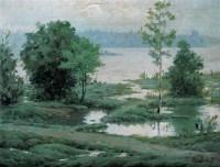祝朋常 春 布面 油画 -  - 中国油画 - 2006年秋季拍卖会 -收藏网