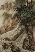 吴一峰(1907-?)大渡河 - 4563 - 雅纸藏中国现当代书画 - 2007首届秋季艺术品拍卖会 -收藏网