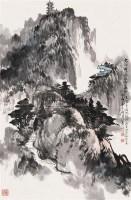 山水 设色纸本 - 乍启典 - 中国书画专场 - 2007太平洋0121期艺术品拍卖会 -中国收藏网