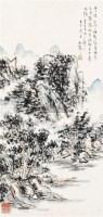 山水 镜片 纸本 - 116750 - 中国书画 - 2011春季艺术品拍卖会 -收藏网