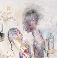 西湖梦之一 布面 油画 - 任小林 - 中国油画 - 2006秋季大型艺术品拍卖会 -收藏网