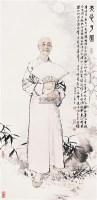 人物 镜心 设色纸本 - 何家英 - 中国书画 - 2005首届书画拍卖会 -收藏网