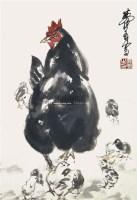 育雏 镜片 纸本 - 7693 - 中国书画 - 2011春季艺术品拍卖会 -收藏网