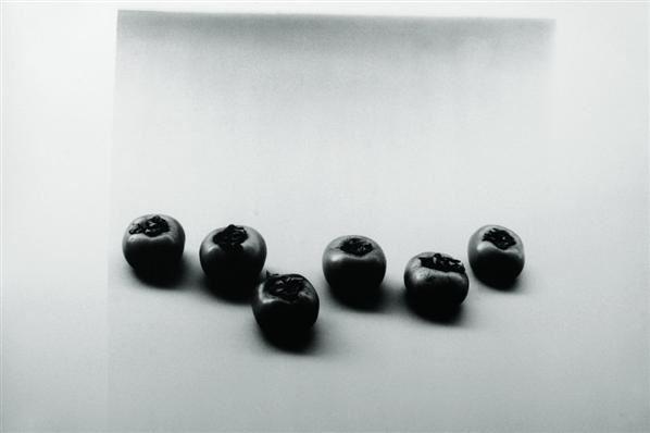 六个柿子 黑白摄影 - 140575 - 油画版画 - 2007太平洋秋季艺术精品拍卖会 -收藏网