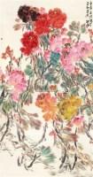 牡丹 立轴 设色纸本 - 130765 - 风雅颂·中国书画 - 首届当代艺术品拍卖会 -收藏网