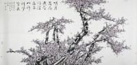 梅花图 镜心 设色纸本 - 91620 - 当代书画名家精品专场 - 2008春季拍卖会 -收藏网