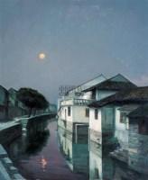 故乡 布面 油画 - 张祖英 - 现当代中国艺术日场 - 2007春季拍卖会 -收藏网
