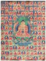 药师千佛 -  - 佛像唐卡 - 2007春季艺术品拍卖会 -中国收藏网