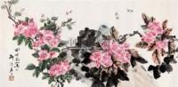 花鸟 带框 设色纸本 - 4069 - 中国书画专场 - 2008第三季艺术品拍卖会 -收藏网