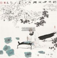 怀素 镜心 设色纸本 - 6338 - 中国书画专场 - 2011夏季艺术品拍卖会 -收藏网