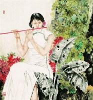 仕女 - 121416 - 中国书画 - 2007秋季艺术品拍卖会 -收藏网