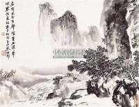 溪山秀峰 镜片 纸本 - 139858 - 中国书画(二) - 2011年春季拍卖会 -收藏网