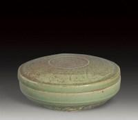 高丽青瓷剔花盖盒 -  - 瓷器 - 2007年春季大型艺术品拍卖会 -收藏网