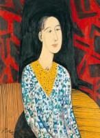 邱亚才    肖像 - 140580 - 中国当代艺术(二) - 2007春季拍卖会 -收藏网