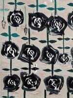 玫瑰园 布面 油画 - 140422 - 名家西画 当代艺术专场 - 2008年春季拍卖会 -收藏网
