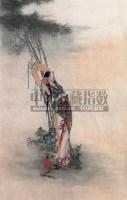 人物 镜心 设色纸本 - 139949 - 中国书画 - 2008秋季艺术品拍卖会 -收藏网