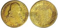 1812年西班牙费而南德七世8s金币 -  - 金银币 - 2010秋季拍卖会 -收藏网
