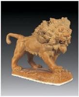 """""""站起来的雄狮""""雕塑 - 158246 - 中国当代名家陶瓷 - 2007秋季拍卖会 -收藏网"""