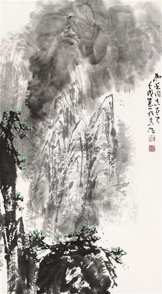 山水 - 10603 - 中国书画(一) - 2011年金秋精品书画拍卖会 -收藏网