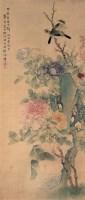 花鸟绢本 立轴 设色绢本 - 徐源舫 - 中国书画专场 - 2008迎春大型艺术品拍卖会 -收藏网
