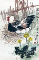 蓠边春色 镜心 纸本 - 1722 - 中国书画(一) - 2011首届秋季艺术品拍卖会 -收藏网