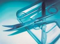 外科手术刀 布面油画 - 64824 - 中国当代艺术 - 大海航行—中国当代艺术秋季拍卖会 -中国收藏网