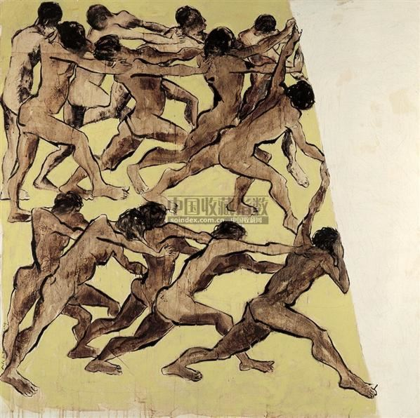 PUTU SUTAWIJAYA Melawan siapa -  - 现代及当代东南亚艺术 - 2007春季艺术品拍卖会 -收藏网