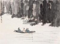 山水 立轴 设色纸本 - 2538 - 中国书画 - 第117期月末拍卖会 -收藏网