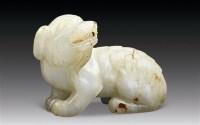 白玉回头兽小摆件 -  - 中国玉器精品专场 - 2011年秋季艺术品拍卖会 -收藏网