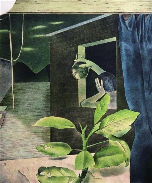悄无声息Ⅱ 石版画 - 9183 - 油画版画 - 2007太平洋秋季艺术精品拍卖会 -收藏网