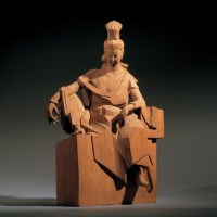 朱铭 观音 - 朱铭 - 中国当代艺术(一) - 2007春季拍卖会 -收藏网
