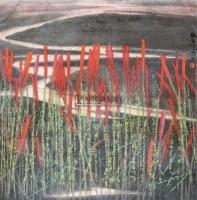 红高粱图 镜心 设色纸本 - 周绍华 - 中国书画 - 2011北京春季艺术品拍卖会 -收藏网