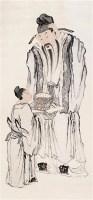 人物 镜心 设色纸本 -  - 中国书画(一) - 2006年秋季拍卖会 -收藏网