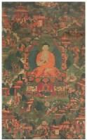 佛传故事唐卡 -  - 佛像唐卡 - 2007春季艺术品拍卖会 -收藏网