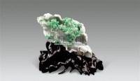 """翡翠雕""""丰衣足食""""摆件 -  - 古董珍玩 - 2011年春季艺术品拍卖会 -中国收藏网"""