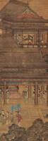 秀院闲居 立轴 设色绢本 -  - 中国书画(二) - 2006春季拍卖会 -收藏网