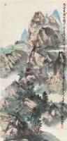 西山高仕图 立轴 设色纸本 - 50584 - 中国书画专场 - 2011夏季艺术品拍卖会 -收藏网