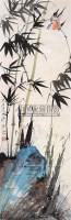 花鸟 立轴 设色纸本 - 117343 - 书画、油画及瓷杂 - 2006年秋季艺术品拍卖会 -中国收藏网
