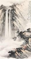 四川沙坪坝 立轴 纸本 - 黄君璧 - 中国书画(一) - 2011年春季拍卖会 -收藏网