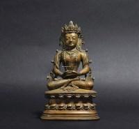 无量寿佛像 -  - 妙法修心(一)——佛像专场 - 2011年秋季艺术品拍卖会 -收藏网