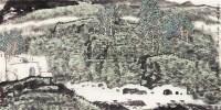 山水 设色纸本 - 130883 - 中国书画(一) - 2011春季书画拍卖会 -收藏网