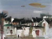 逝去的江南54号 纸本水彩 - 林绍灵 - 当代与唯美 中国油画雕塑 - 2008春季大型艺术品拍卖会 -收藏网