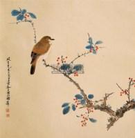 花鸟 立轴 纸本 - 139818 - 中国书画 - 2011春季艺术品拍卖会 -收藏网