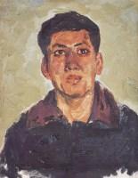 罗尔纯 肖像 - 罗尔纯 - 中国油画 - 四季拍卖会(第56期) -收藏网